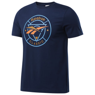 CL F TRAIL TEE Collegiate Navy FM5019