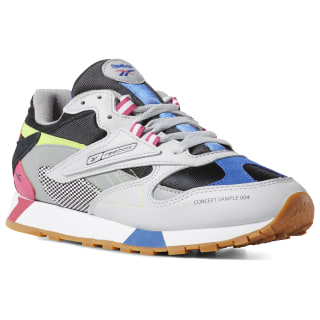 Classic Leather ATI 90s Women's Shoes Skull Grey / Black / Pink / Neon DV9791