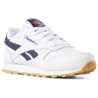 CLASSIC LEATHER White/Collegiate Navy/Gum DV4568