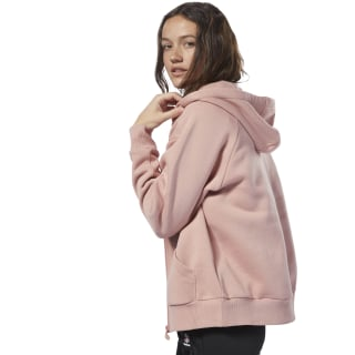 Fleece Full Zip Hoodie Chalk Pink / Chalk Pink DH1377