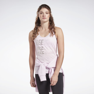 Studio High Intensity Graphic Tank Top Pixel Pink FK5343