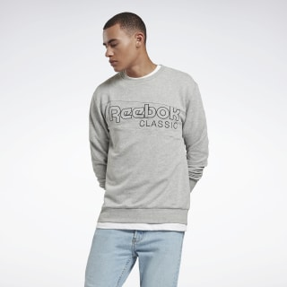Classics Sweatshirt Medium Grey Heather EE2407