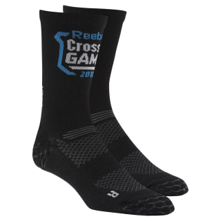 Reebok CrossFit Engineered Crew Socks Black DN1536