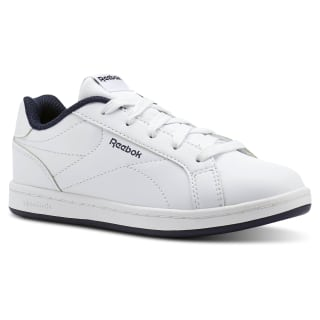 Reebok Royal Complete Clean White/Collegiate Navy- No Texture Toe CN1719