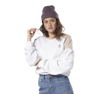 Buzo Classics Advanced Fancy Crew Neck White / White / Bare Beige DH1234