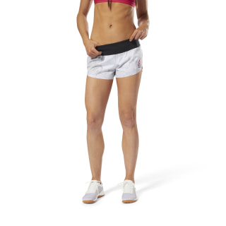 Reebok CrossFit KNW Short Stone White DN6191