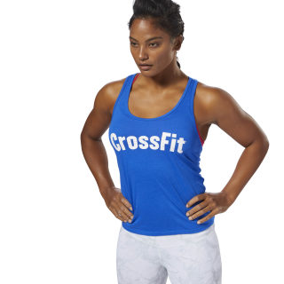 Reebok CrossFit F.E.F Graphic Tank Vital Blue DP1227
