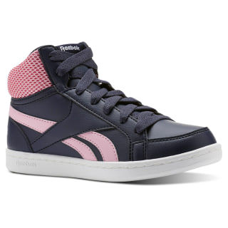 Reebok Royal Prime Mid Collegiate Navy / Light Pink / White CN4755