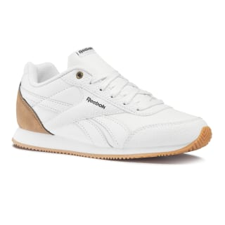 Reebok Royal Classic Jogger 2 White / Dark Brown / Tan DV6940