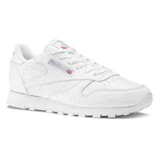 Classic Leather Shoes White 50151