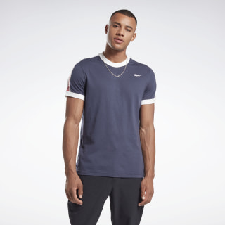 Training Essentials Linear Logo T-Shirt Heritage Navy FS1637