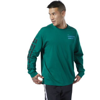 Camiseta Meet You There Clover Green DY7775