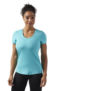 T-shirt Workout Ready Speedwick Turquoise/Solid Teal CF8683