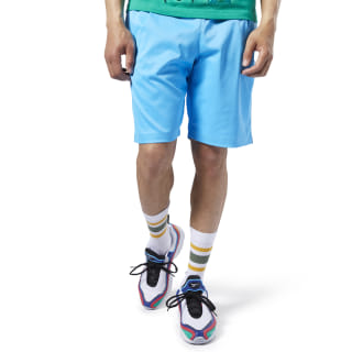 Classics Advance Shorts Bright Cyan EA3580