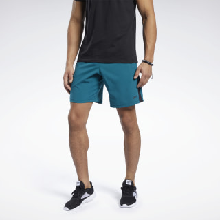 Short Workout Ready Heritage Teal FP9108