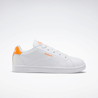 Reebok Royal Complete Clean 2.0 Shoes White / Solar Orange / None EF6842