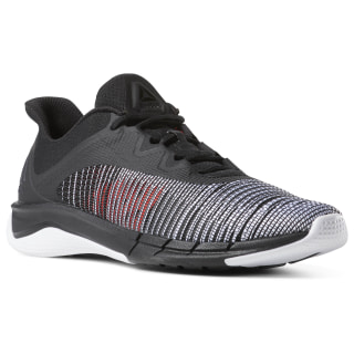 Zapatillas Fast Tempo Flexweave black / white / neon red CN6610