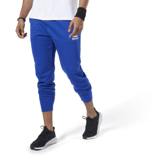 Spodnie dresowe Training Essentials Logo Jogger Pants Cobalt FI1943
