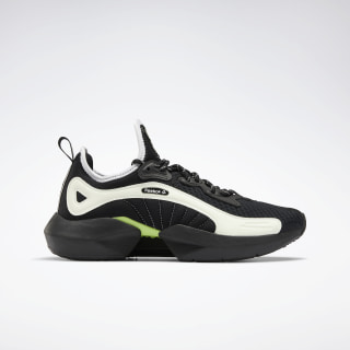 Sole Fury '00 Shoes Black / White / Neon Lime FV3545