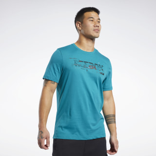 Graphic Tee Seaport Teal FL0601