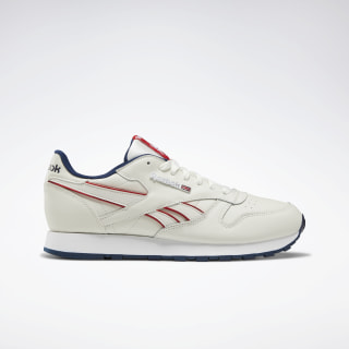 Classic Leather Chalk / Navy / Red / White DV8628