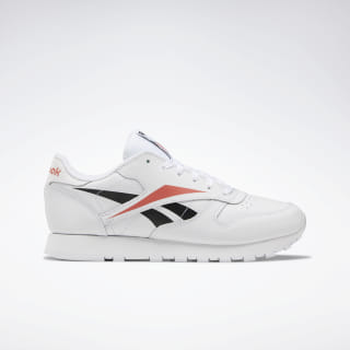 Scarpe Classic Leather White / Black / Rosette EG1454
