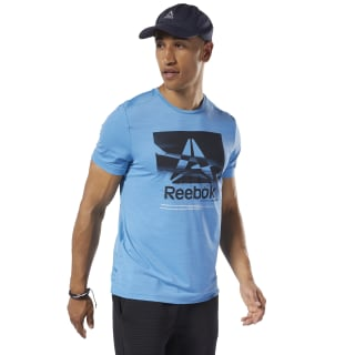 Workout Ready ACTIVCHILL Graphic Tee Cyan EC0860