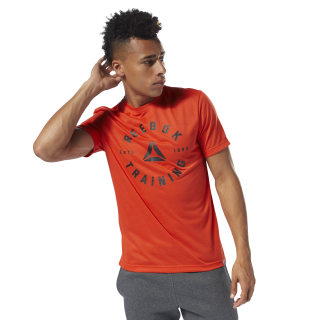 GRAPHIC TEE SHORT SLEEVE GS Training Speedwick Tee carotene DH3742