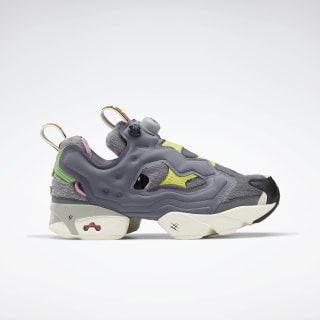 Tom and Jerry Instapump Fury OG Shoes Cold Grey 6 / Hero Yellow / Black FW4656