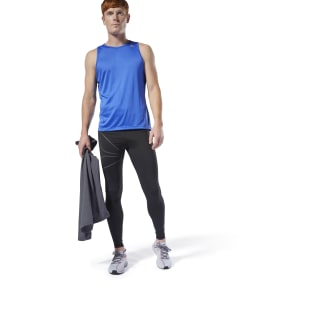 Legginsy Running Reflective Black DP6739