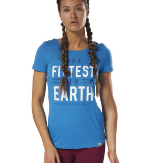 CrossFit Games Tee Mendota Blue DN2418