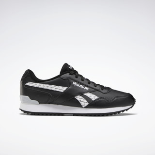 Reebok Royal Glide Ripple Clip Black / White / Pure Grey 2 EF7707