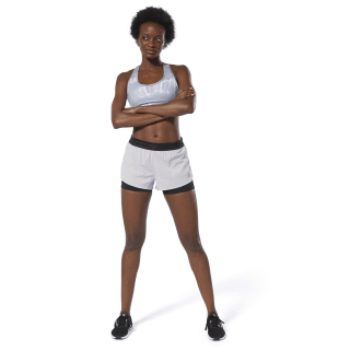 Running Epic Two-in-One Shorts Grey / Black DP6593