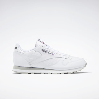 Classic Leather Men's Shoes White 101