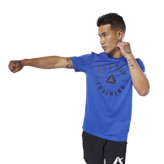 GS Training Speedwick Tee Crushed Cobalt DU4651