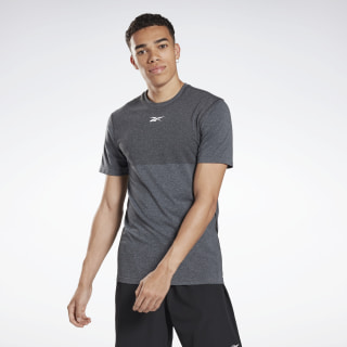 LES MILLS® MyoKnit T-Shirt Cold Grey 7 / Black FM7145