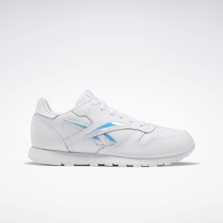 Classic Leather Shoes White / White / White EF3005