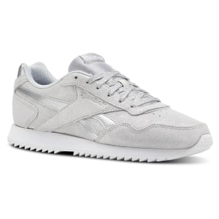 Reebok Royal Glide Ripple Silver Metallic / White CN6409