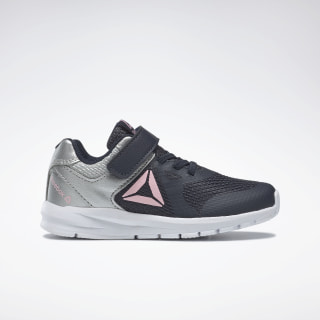 Reebok Rush Runner Shoes Navy / Silver / Pink DV8796