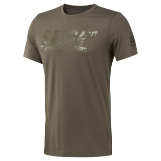 UFC Logo Tee Brown D95020