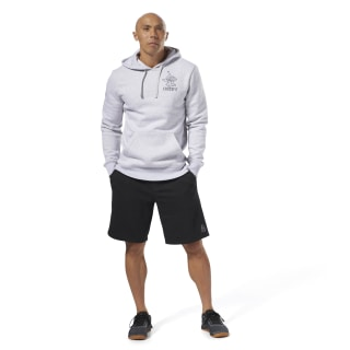 Reebok CrossFit Anvil Pullover Light Grey Heather DH3700