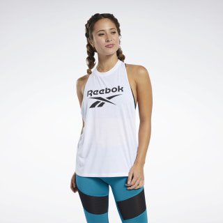 Workout Ready Supremium Big Logo Tank Top White FJ2760