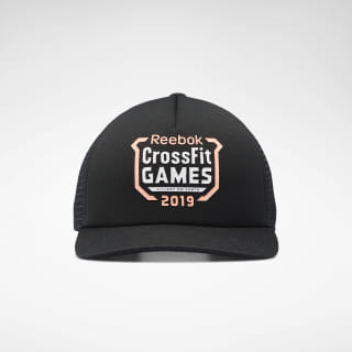 Кепка Reebok CrossFit® Games Trucker Black/black FI9309