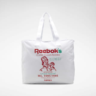 Classics Graphic Food Tote White ED1273