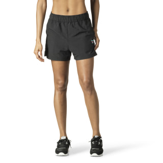 Woven Athleisure Shorts Black DP0205