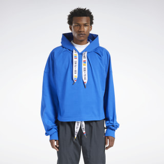 Reebok by Pyer Moss Hooded Sweatshirt Vital Blue FN2543