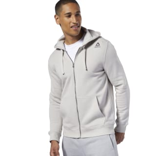 Fleece Full-Zip Hoodie Grey DY7781