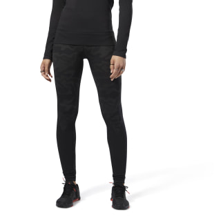 Thermowarm Seamless Tight Black CY3310
