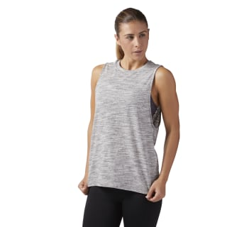 Reebok Training Essentials Muscle Tank Medium Grey Heather CF8610