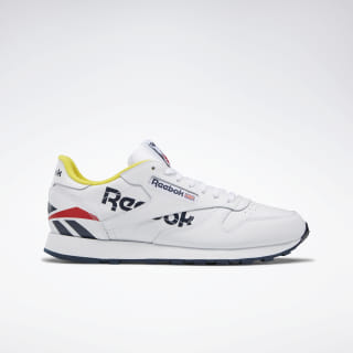Classic Leather White / Collegiate Navy / Primal Red EG5275